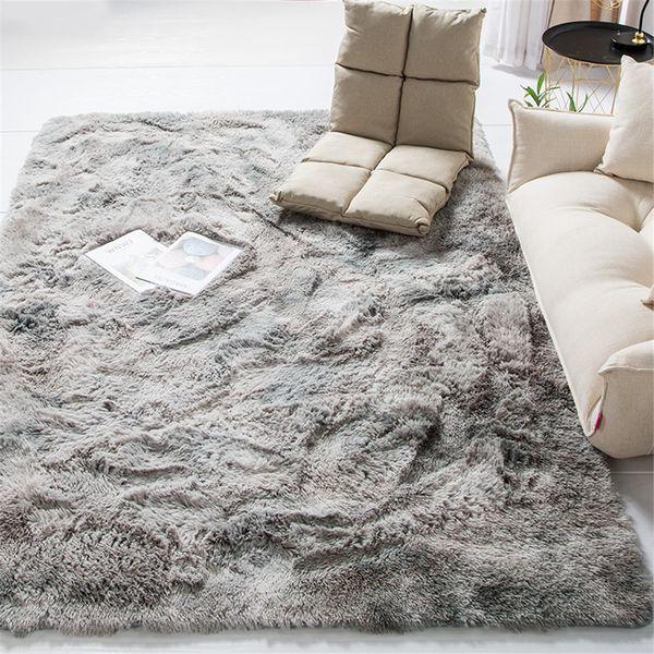 Plush Soft Fabric Carpets For Living
