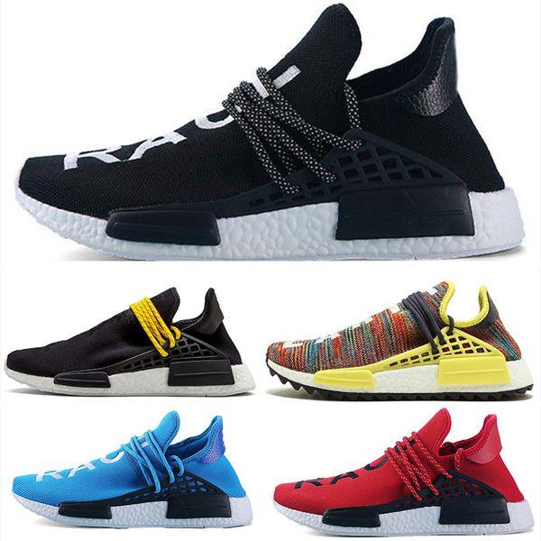 Compre Adidas Human Race NMD HU Inspiration TR Human Race Zapatillas Para Correr Pharrell Williams Clear Sky Powder Blue White Bold Core Black Sports
