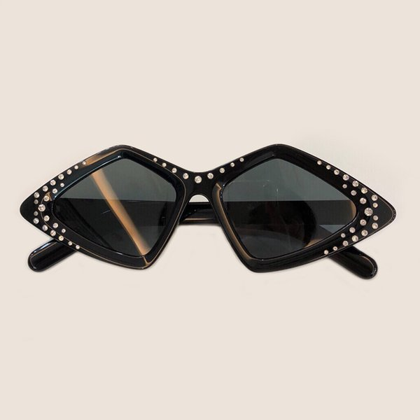 Moda Lüks Kelebek Güneş Gözlüğü 2019 Yüksek Kalite Asetat Çerçeve Ayna Lens UV400 Koruma ulculos De Sol Feminino Kutusu ile