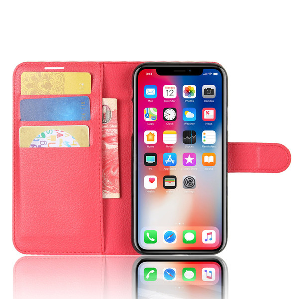 New designer phone case For Iphone XS Max XR X 8 Samsung S8 S9 Plus Wallet Case For Note 8 Note 9 PU Leather Cases Wallet Back Cover Pouch