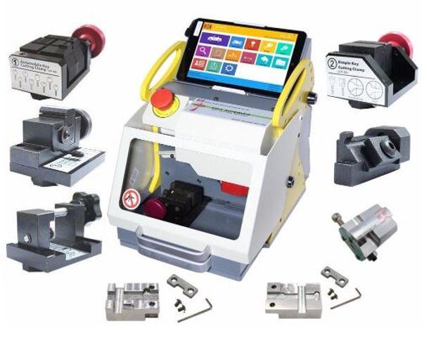 2019 DHL free shiping Full Automatic SEC-E9 Key Cutting Machine Auto Key Programmer For All Cars SEC-E9 Key Cutting Machine Silca Machine
