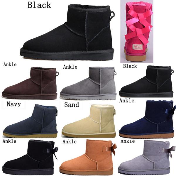 shoes_sport / Novas chegadas austrália clássico mulheres menina WGG botas botas de inverno quente cinza botas pretas azul neve vermelhos sobre os sapatos do torn