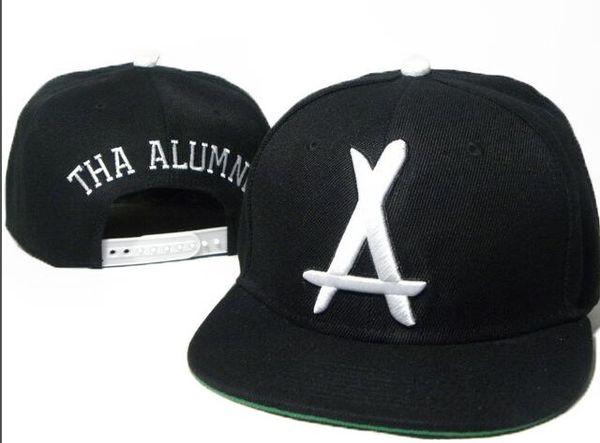 2019 New Arrival Summer Casquette Baseball Cap Men THA Alumni Embroidery Hip Hop bone Snapback Hats for Men Women Adjustable Gorras dad hat