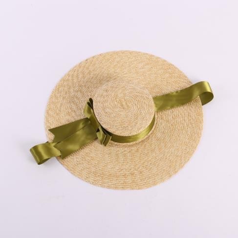 2019 new best selling comfortable summer sunscreen beach tourism vacation visor cloth light yarn hat wholesale direct sales
