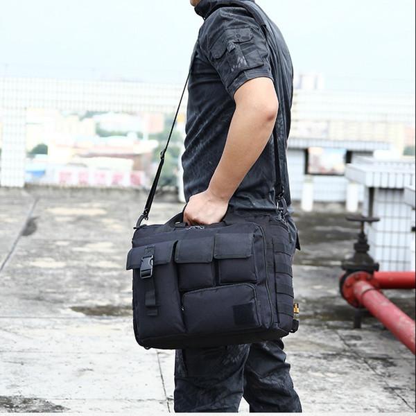 Army Bags Men'S Shoulder Bags Molle Outdoor Sport Laptop Camera Military Tactical Messenger Hiking Messenger Handbags #108683