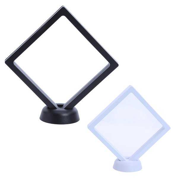 Nail Art Beauty Tips Square Model Frame For Nails Card Mini Panel Color Black White Square Model Frame For Manicure Display Diy