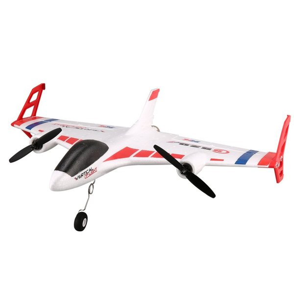 XK X520 6CH 3D/6G RC Airplane Toy VTOL Vertical Takeoff Land Delta Wing RC  Dron Fixed Wing Plane With Mode Switch LED Light Gift Uav Quadcopter Drone