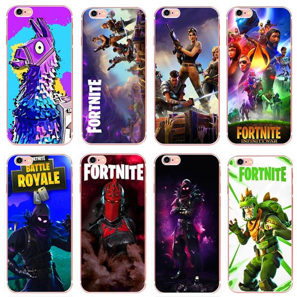 Fortnite Phone Cases FPS Game Designer Soft TPU Back Cover for ...