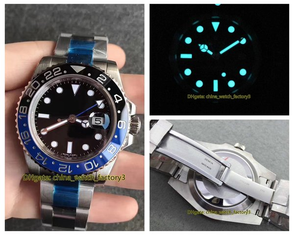 best selling 18 Style Top Quality BP Maker V5 Version 40mm 116710 116610 214270 116400 44mm 116660 126600 Asia 2813 Movement Automatic Mens Watch Watches