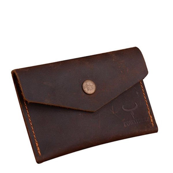 Crzay Horse High Quality Leather Men Wallet Luxury Male Purse Dollor Price Carteira