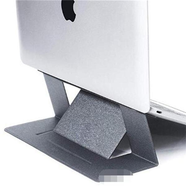 Beweglicher unsichtbarer Laptop-Standplatz verdünnen nahtlos abnehmbaren bunten justierbaren Halter-Aufbruch-faltende Klammer für Laptope Neue Ankunft 13bh O1