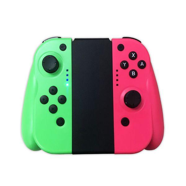 grün - pink