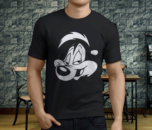New Cool Cotton Pepe Le Pew Slash Guns n Roses T-shirt noir Taille Homme S-3XL