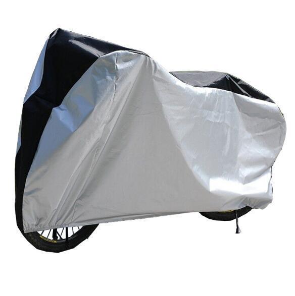 Couverture de moto étanche UV protecteur de poussière pour moto vélo scooter pluie anti-poussière couverture protecteur de vélo CCA10944 10pcs