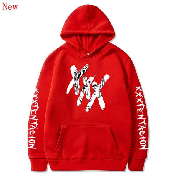 Hoodies de mode hommes / femmes Casual Hip Hop XXXTentacion Sweat Vibes Forever Traksuit Fleece Pullover Hoody QJ6