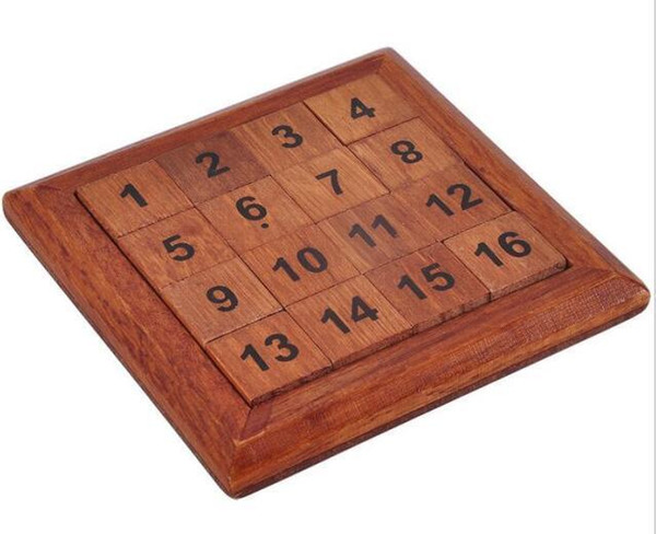 2017 New Iq Math Wooden Brain Teaser Puzzle Number Baffling Game For Adults Children