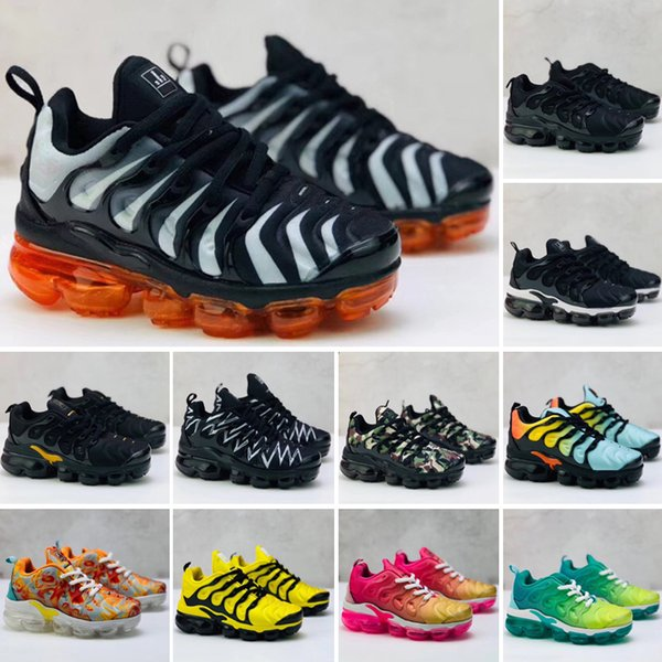 nike air vapormax plus schwarz volt