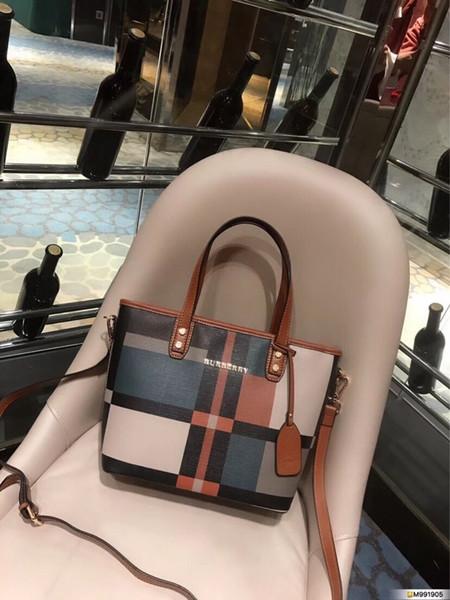 Fashion Simple Bag Designer Handbag donna 2019 Catena di alta qualità Borsa a tracolla per cellulare Borse a tracolla per donna Borse donna Tote