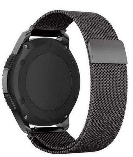 22mm 20mm 18mm Milanese Per Samsung Gear sport S2 S3 Frontier Classic Band huami amazfit bip Strap huawei GT 2 orologio galassia attivo 42 46mm