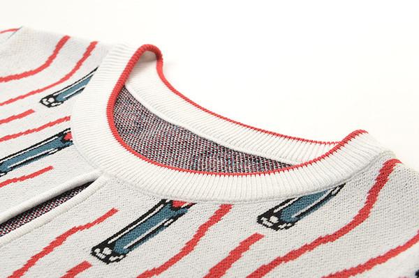 Mode-Weiß mit kurzen Ärmeln Cartoon Print Frauen T-Shirts Marke gleichen Stil Lippen Print T-Shirts Frauen 15
