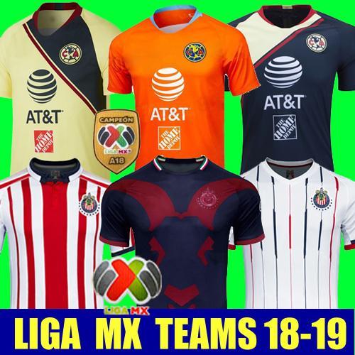 Thailand 2018 2019 CHIVAS Club-Weltmeisterschaft LIGA MX Club America CHIVAS Guadalajara UNAM TIGRES Fußball Jersey 18 19 Fußball