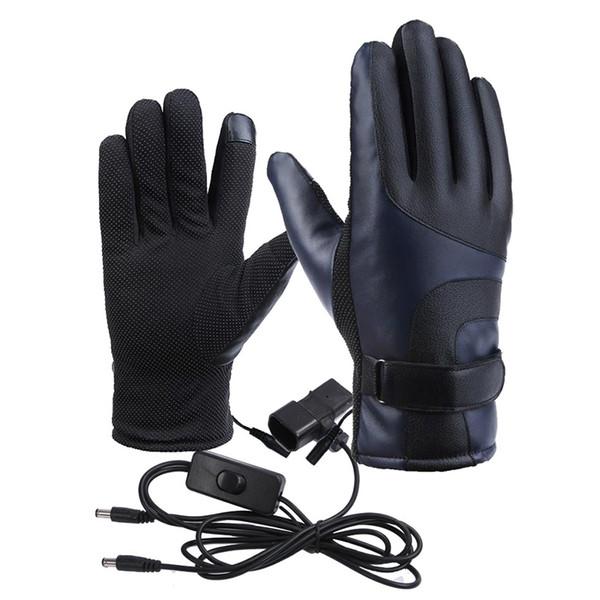 Winter Four-Speed термостат Зарядка Теплый электрический автомобиль Отопительные перчатки Мотоцикл Электрические перчатки