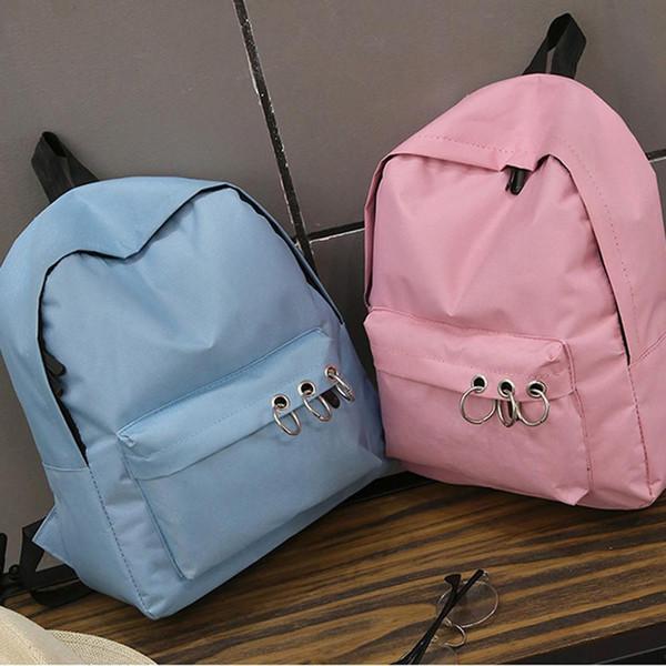 Backpack Women Canvas School Backpack For Teenagers Lady Casual Cute Rucksack Bookbags Feminina #T