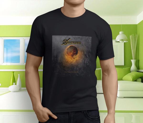 Nuevo SANTUARIO popular el año en que los hombres muertos al sol Camiseta negra Tamaño S-3XLFunny envío gratis Unisex Camiseta Casual