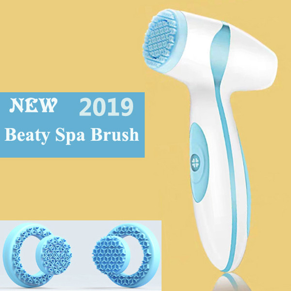 best selling Dropshipping Link For Vip Electric Facial Cleansing Brush Sonic Pore Cleaner Nu Galvanic Spa Skin Care Massager Face lift