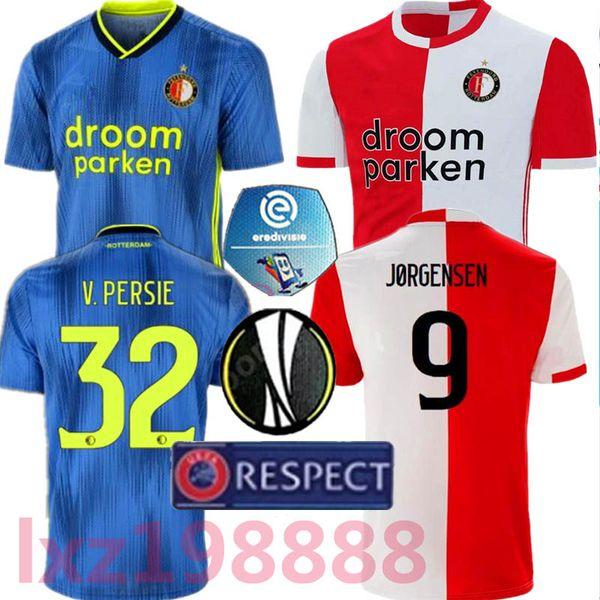 NEW 19-20 Feyenoord soccer jersey thailand QUALITY 2019 2020 LARSSON V.PERSIE BERGHUIS VILHENA JORGENSEN 19/20 FEYENOORD JERSEY ADULT SHIRT