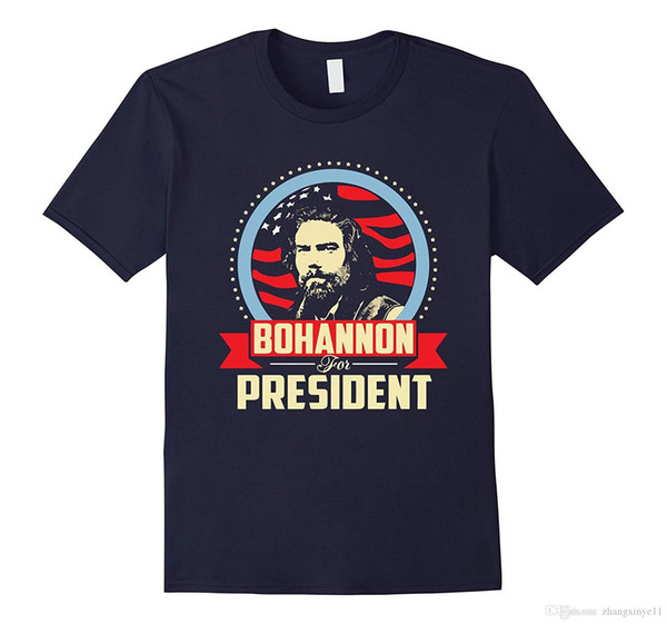 Bohannon for President 2016 general election t shirt