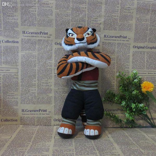 All'ingrosso-Kung Fu Panda Maestro Tigress Tigre della peluche Giocattoli di peluche 32 centimetri