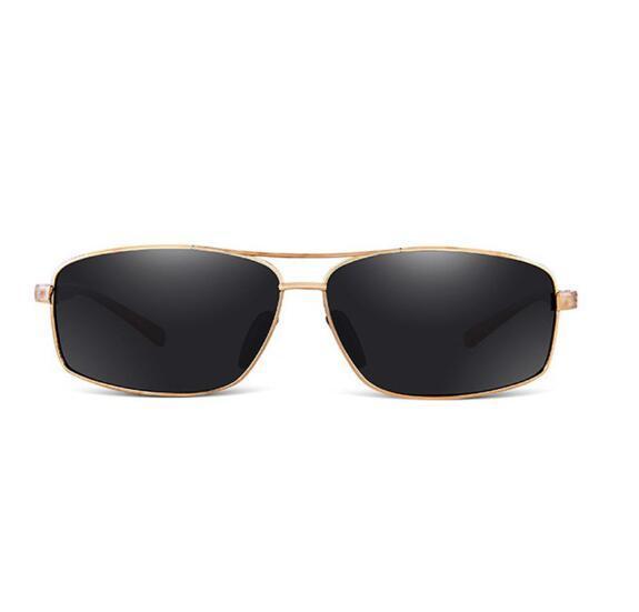 Men's polarized sunglasses sunglasses square driving Sunglasses personality trendy avant-garde mirror