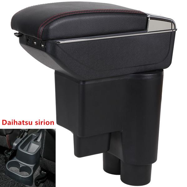 Für Daihatsu Sirion Armlehnenbox USB Ladehöhe Double Layer Central Store Inhalt Getränkehalter Aschenbecher Zubehör
