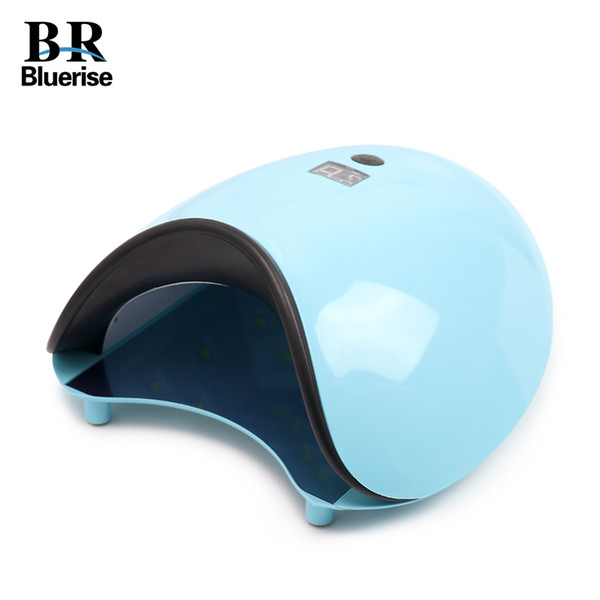 Uv Led Nail Lamp 48w Nail Dryer Curing Gel Polish Light With Bottom 15s/30s/60s Timer Lcd Display Nail Art Tools Bluerise Led-78 T190712
