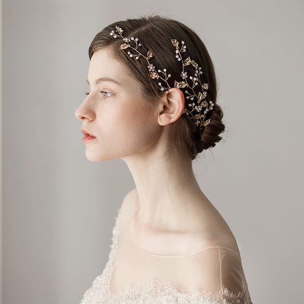 2019 New Rhinestone Bridal Hair Comb Clip Pin Pieces Wedding Pearl Crystal Accessories Jewelry Bride Bridesmaid