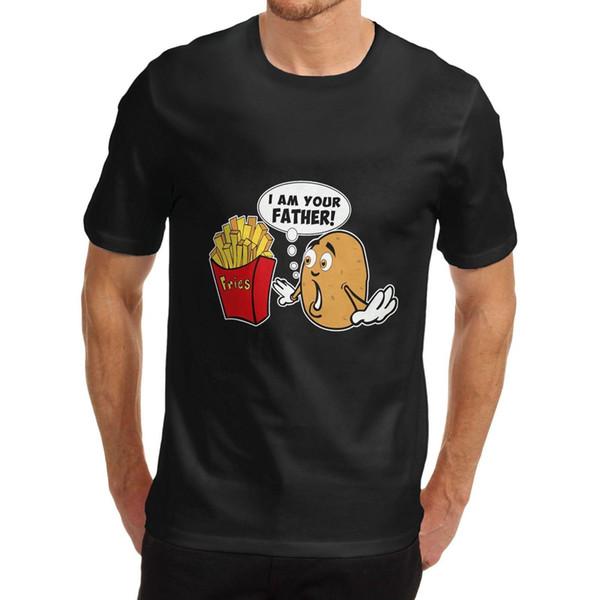 Eu sou seu t-shirt gráfico engraçado do pai