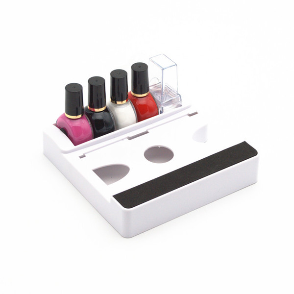 New Arrival Nail Stamping Plastic Empty Storage Box Nail Polish Stamping Display Storage Box Case Organizer Holder