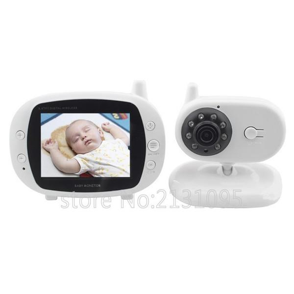 wireless video with camera baby monitor 3.2inches lcd 2 way audio talk night vision surveillance security camera radio nanny