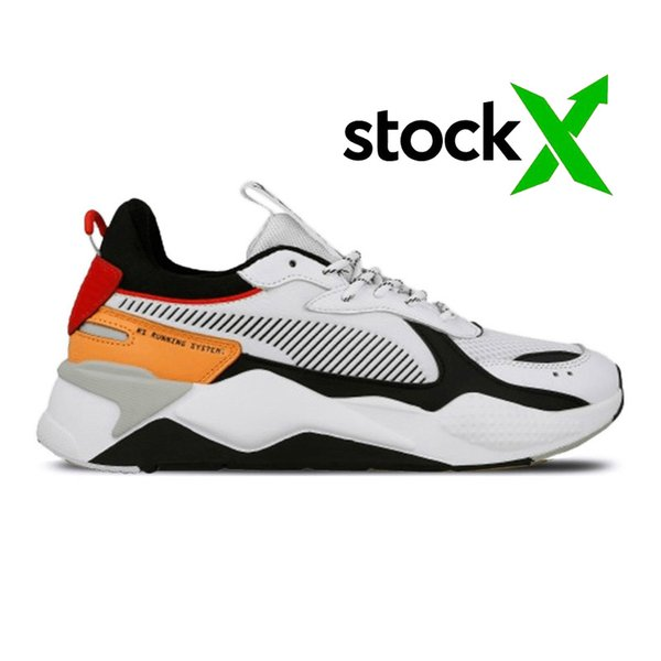 A7 bianco nero arancio 36-45