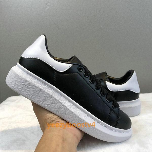 2019 Velvet Chaussures Black White douradas reflexivas Designers de couro de luxo calça as sapatilhas das mulheres dos homens plataforma Casual sapatas lisas fg12