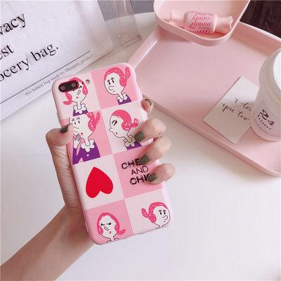 Beautiful Girl Pattern Crashproof Soft Back Cover Silicone Cell Phone Case Protective Covers For iPhone X XR XS MAX 6 6S 7 8 PLUS