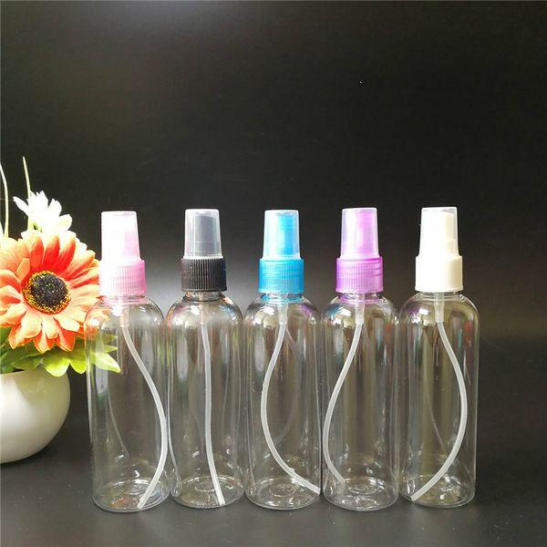 Wholesale 100m thickness liquid bottle spray mist Cosmetics separately bottles press contact plastic Fine