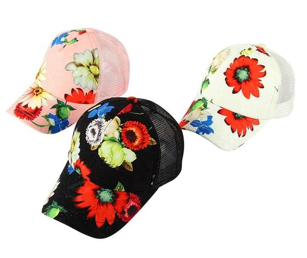 Low Price Snapback Hats Cool Design Snapback Hats Women Mesh Hats Custom Made Snapbacks Ladies Sun Caps New Casual Flower Dad Outlet Store