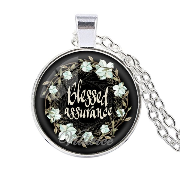 Nouveaux versets de la Bible collier verre dôme pendentif colliers citation scripture bijoux foi chrétienne cadeaux inspirants livraison gratuite en gros