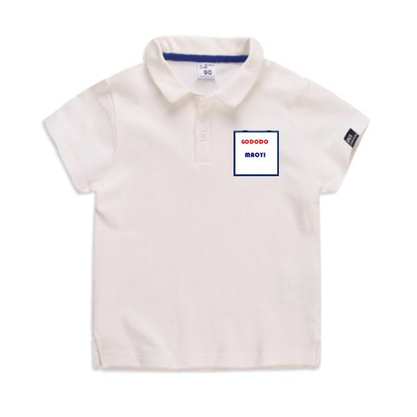 Verano Harajuku Animal Gato Estampado Camiseta para niños Camiseta de manga corta Boy T Shirt BOY Tops Camiseta adolescente para niños