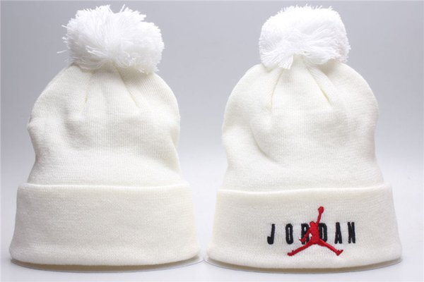 Pompoms Fur Knitted Winter Hats For Men Women Pompoms Beanies Thick Winter Hats Natural Rabbit Fur Female Beanies Caps Warm Hat Bobble Hat