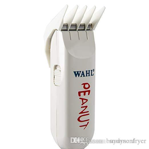 Official Wahl Professional Peanut Classic Clipper Trimmer 8685 White Great for Barbers and Stylists Powerful Rotary Motor
