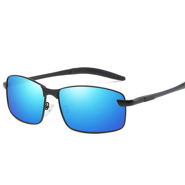 anti glare Fashion Polarized Outdoor Men Goggles Sunglasses Brand Designer metal classic driving women sun glasses oculos