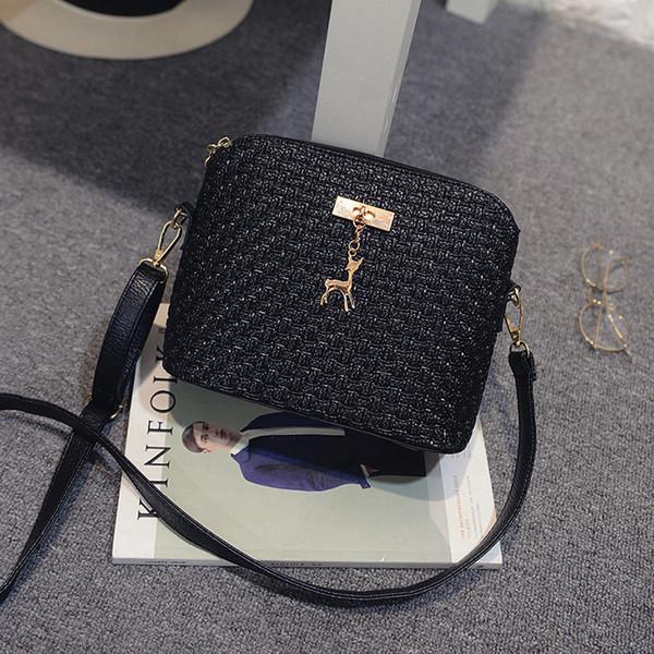 Angel2019 Femme Coquille De Gauve Gaufrage Tisser Une Paquet D'épaule Paquet De Messenger